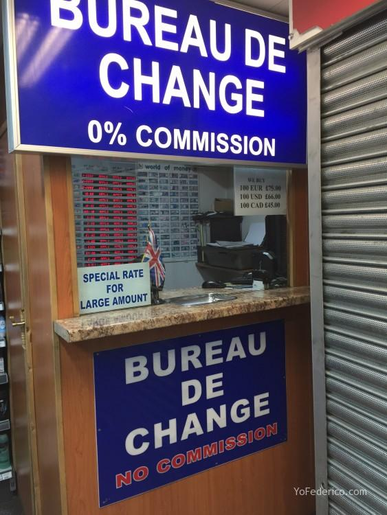 D nde cambiar dinero y comprar libras en londres yo - Oficinas de cambio de moneda ...