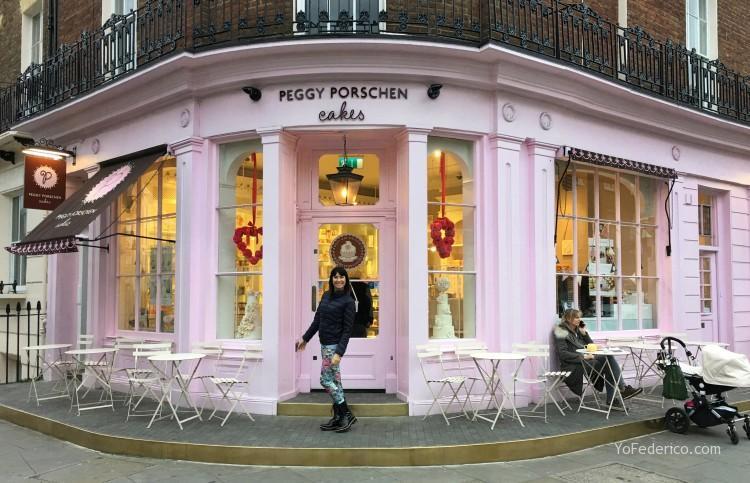 Peggy Porschen cakes, una pastelería muy rosita en Londres 1