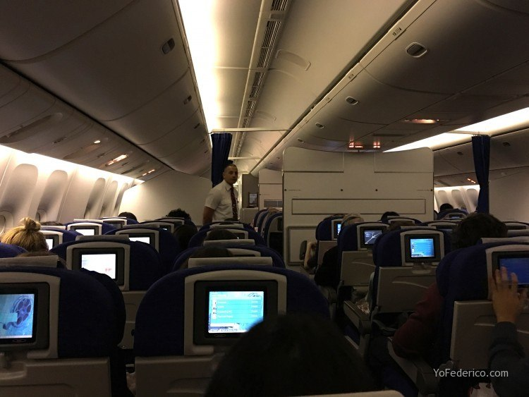 El vuelo en British Airways de Londres a Buenos Aires 5