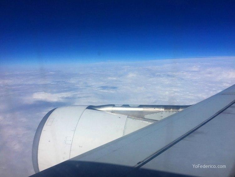 Vuelo de Buenos Aires a Madrid en AirEuropa 1