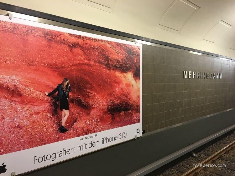 Comprar un pasaje en el Metro de Berlín 1