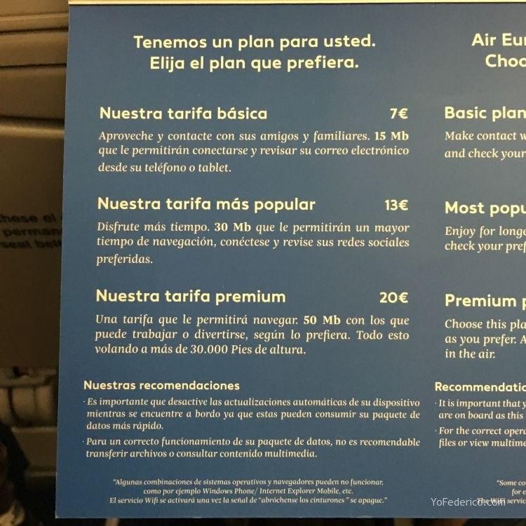 Vuelo de Madrid a Buenos Aires en AirEuropa 6