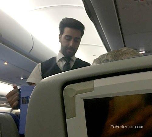 Vuelo de Madrid a Buenos Aires en AirEuropa 14