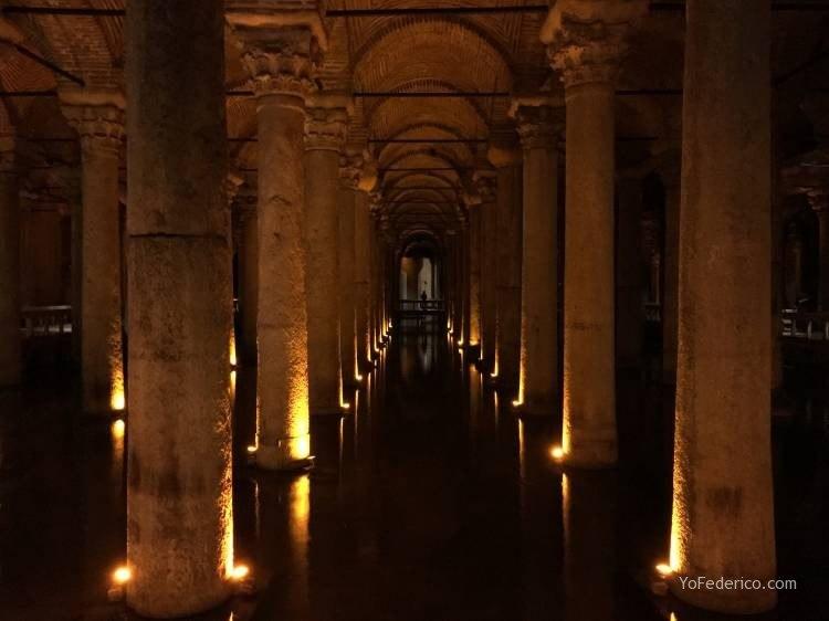 La Cisterna Basílica de Estambul 1