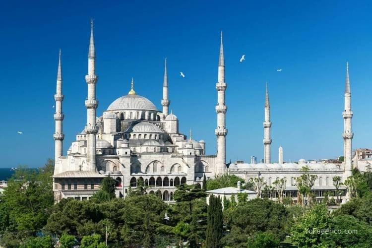 La Mezquita Azul de Estambul 16