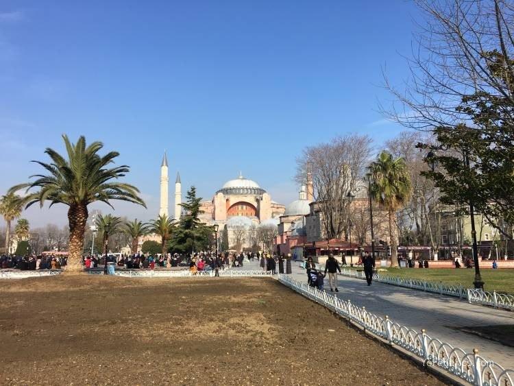 La mezquita Santa Sofía de Estambul 1