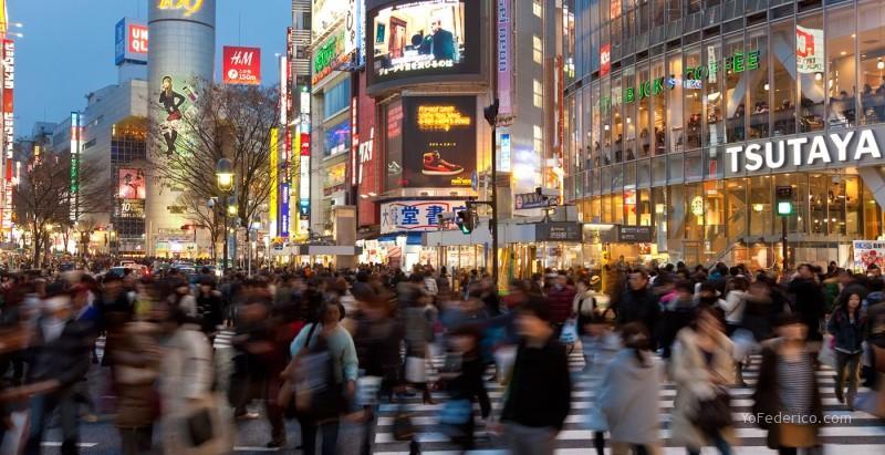 Shibuya, Tokyo, el cruce más concurrido del mundo