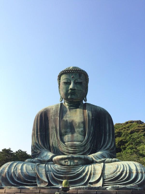 Me encontr un Buda gigante en Kamakura Yo Federico un hedonista