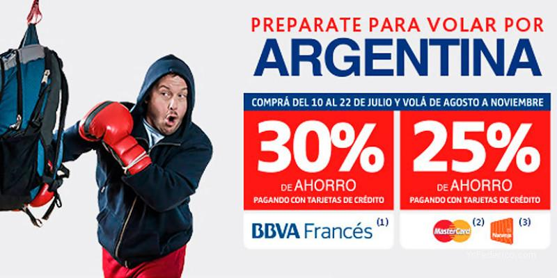 BANCO FRANCES Vuelos con 30% OFF