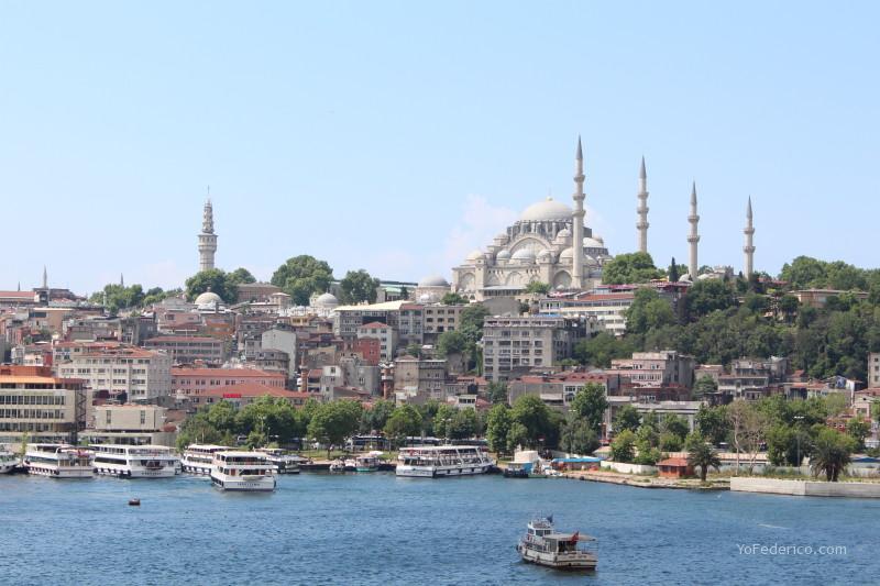 Mesquita en Estambul, Turquía