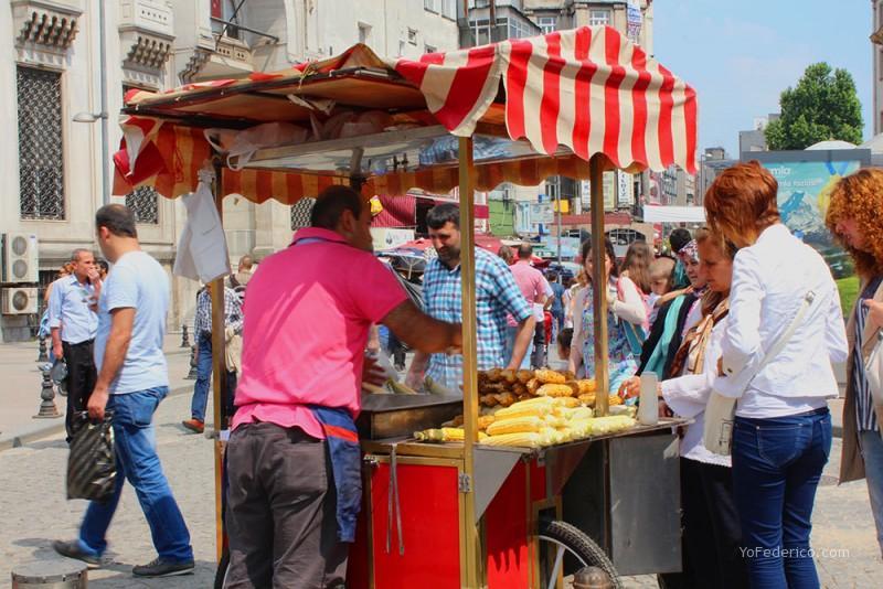 Estambul - vendedor callejero