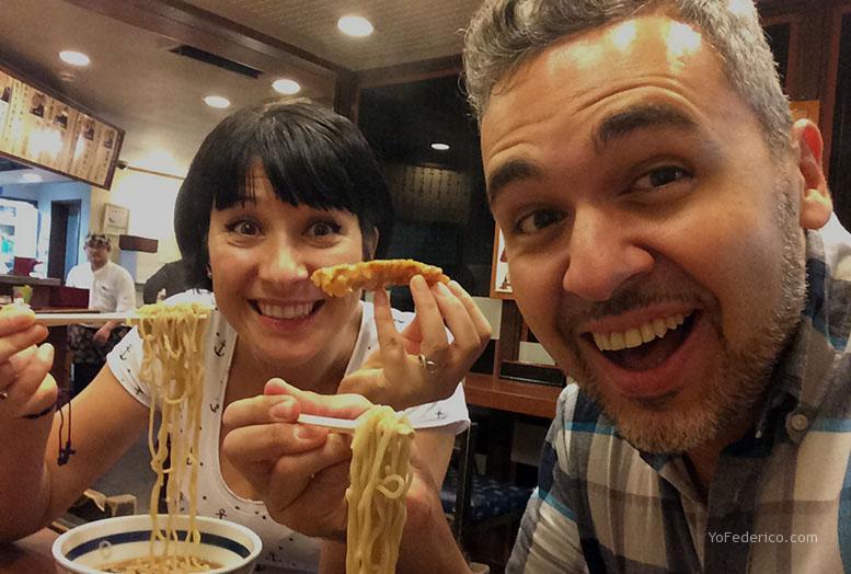 comer en tokyo