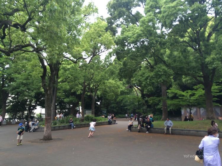 Parque Ueno, Tokyo, Japon