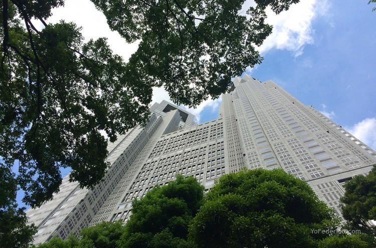 Miradores del Edificio del Gobierno Metropolitano de Tokio