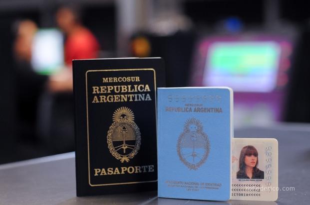 Nuevo DNI y Pasaporte Argentino