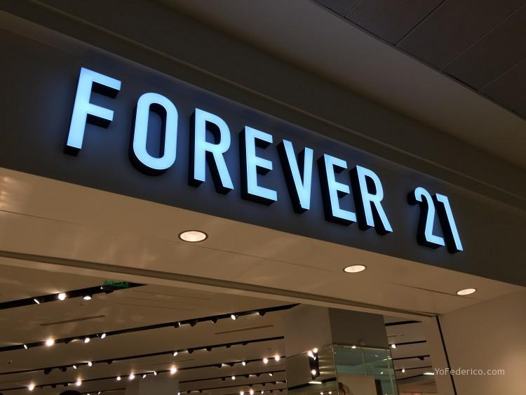 Forever21 Costanera Center Santiago Chile