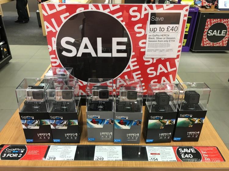 DIXONS, tienda de electronica en el aeropuerto Heathrow de Londres