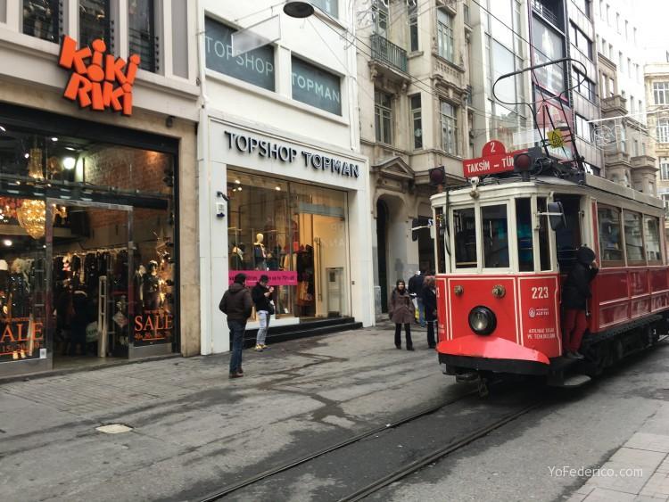 Istiklal, Estambul, Turquia