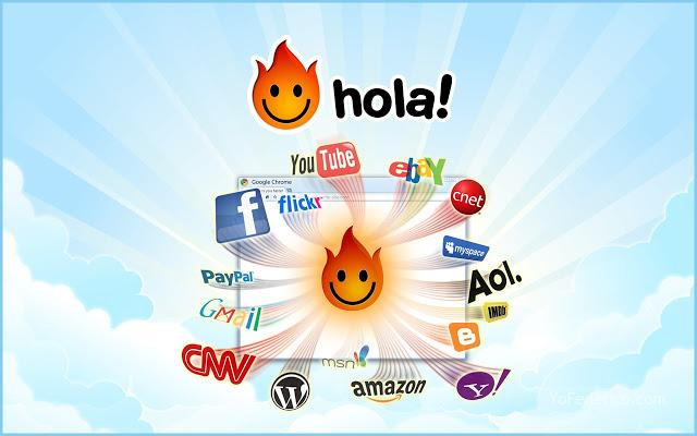 hola! netflix youtube facebook twitter