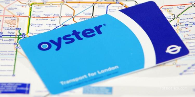 Visitor Oyster card Londres