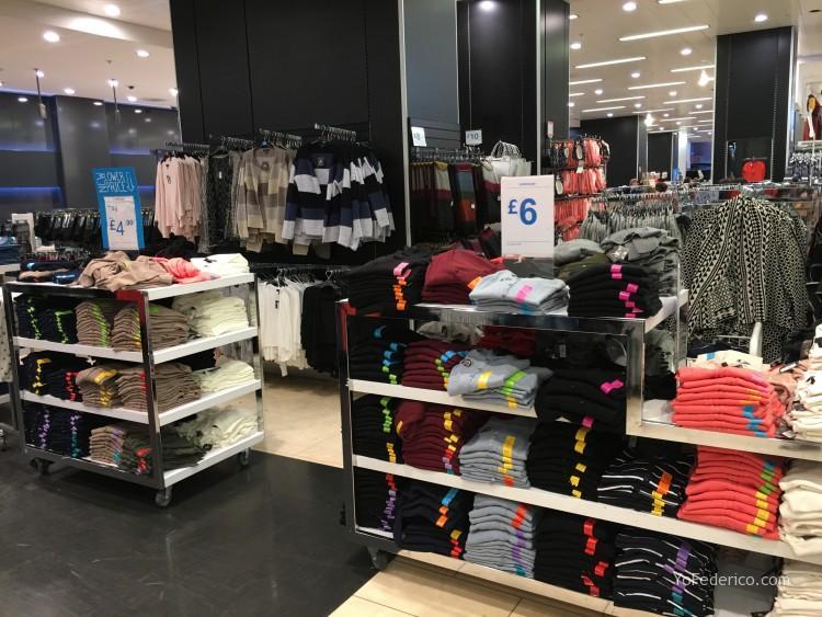 PRIMARK en Londres, ropa muy barata 3