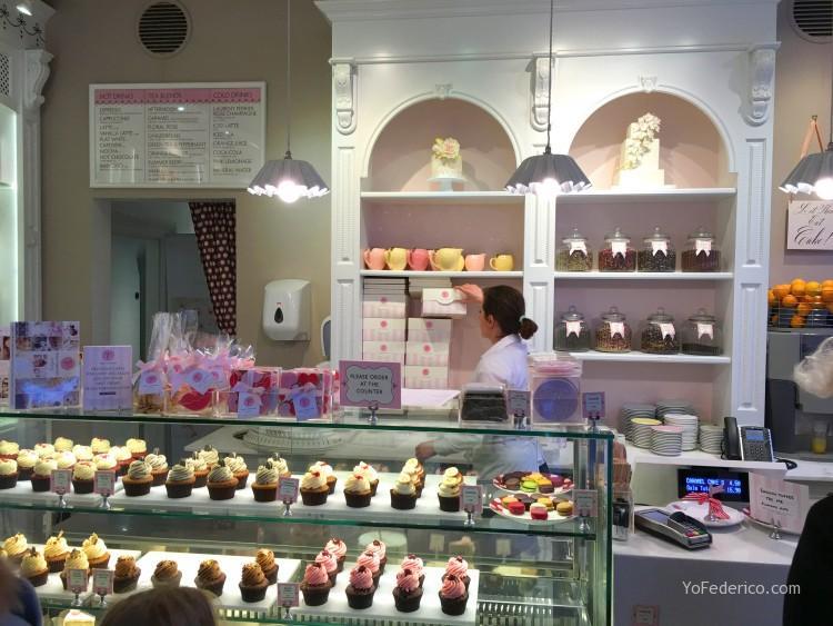 Peggy Porschen cakes, una excelente pastelería en Londres 1