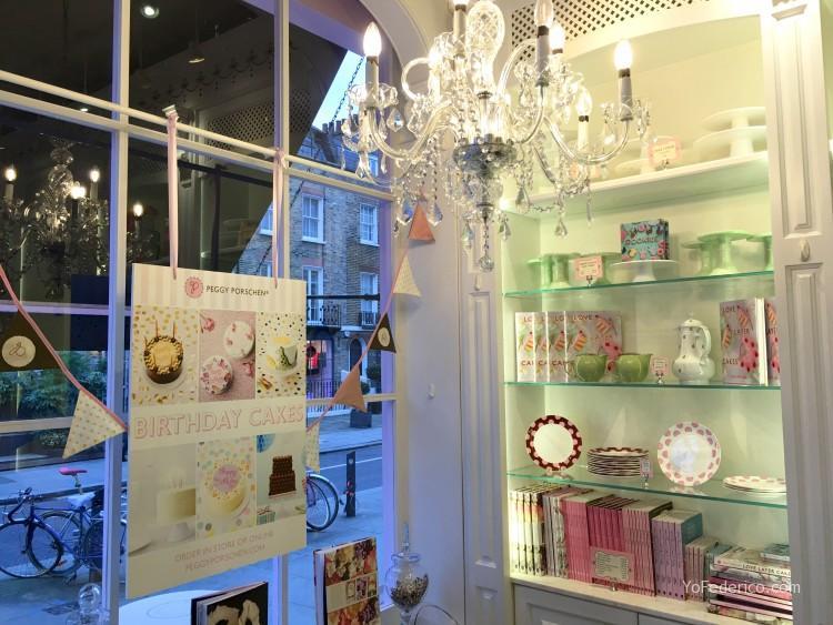 Peggy Porschen cakes, una excelente pastelería en Londres 2