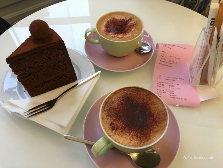 Peggy Porschen cakes, una excelente pastelería en Londres 10