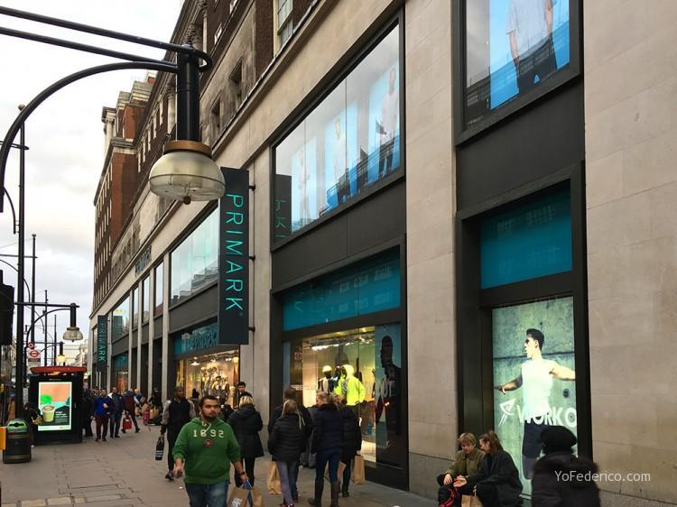 PRIMARK en Londres, ropa muy barata 1