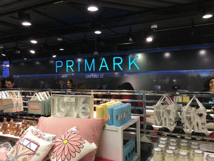 PRIMARK en Londres, ropa muy barata + Tax Free! 2