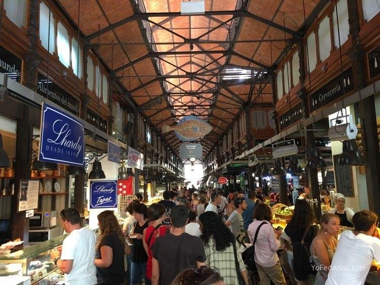 Almuerzo en el Mercado de San Miguel en Madrid 4