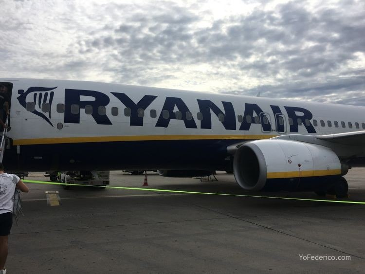 Vuelo de Madrid a Berlin en RyanAir 1