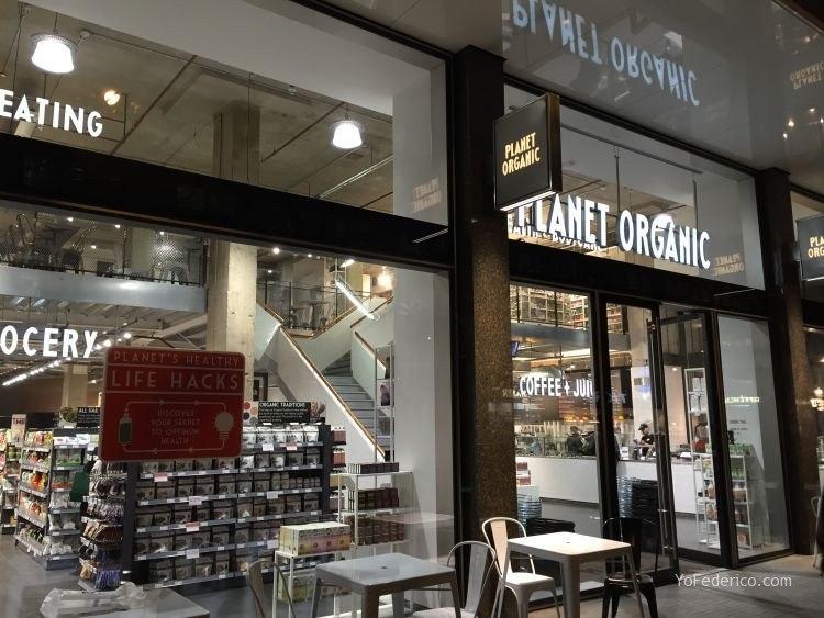 Planet Organic de Londres, todo orgánico! 1