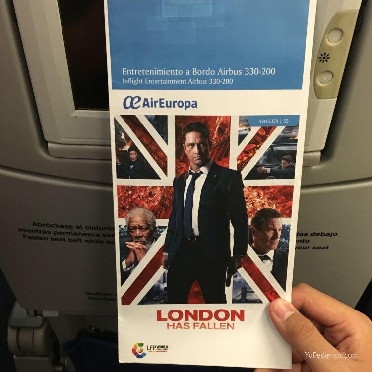 Vuelo de Madrid a Buenos Aires en AirEuropa 4