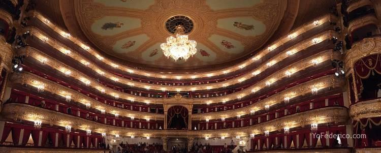 El teatro Bolshoi de Moscú 13