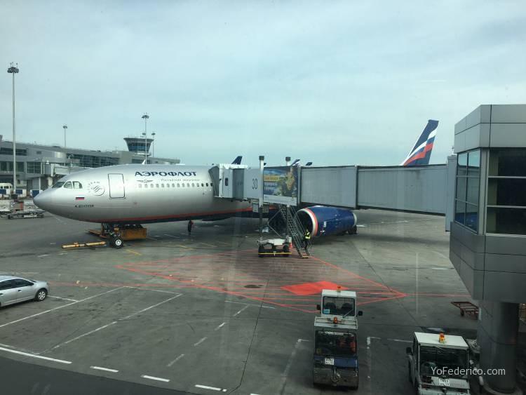 Vuelo Moscú - Londres en Aeroflot 15