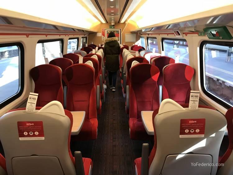 Cómo viajar en tren directo desde Londres a Edimburgo 6