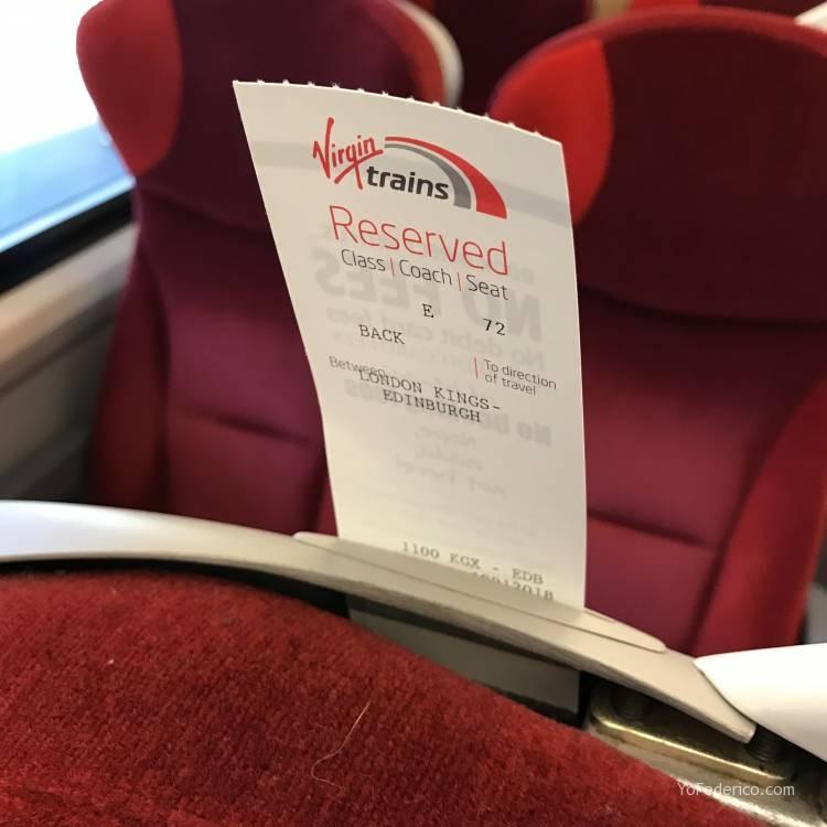 Cómo viajar en tren directo desde Londres a Edimburgo 10