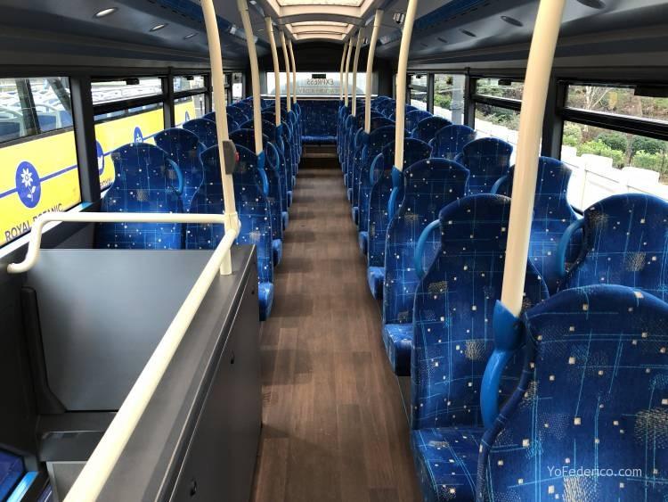 El Bus de Edimburgo que conecta la ciudad con el Aeropuerto 19