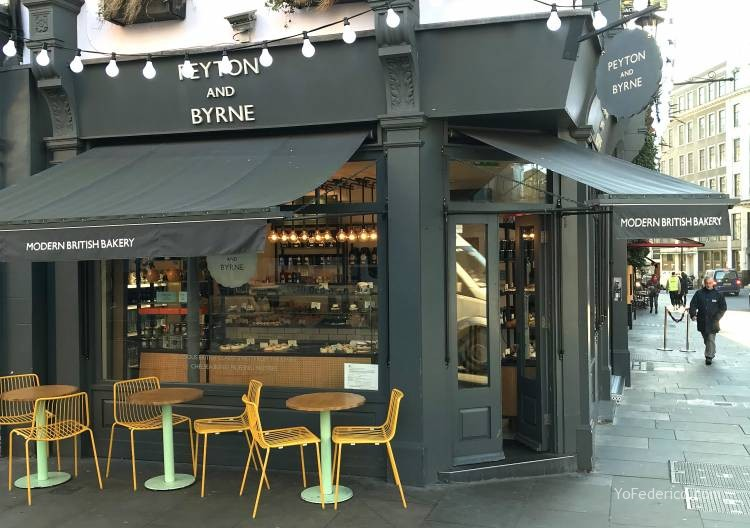 Peyton and Byrne, una cafetería londinense para ir siempre 1