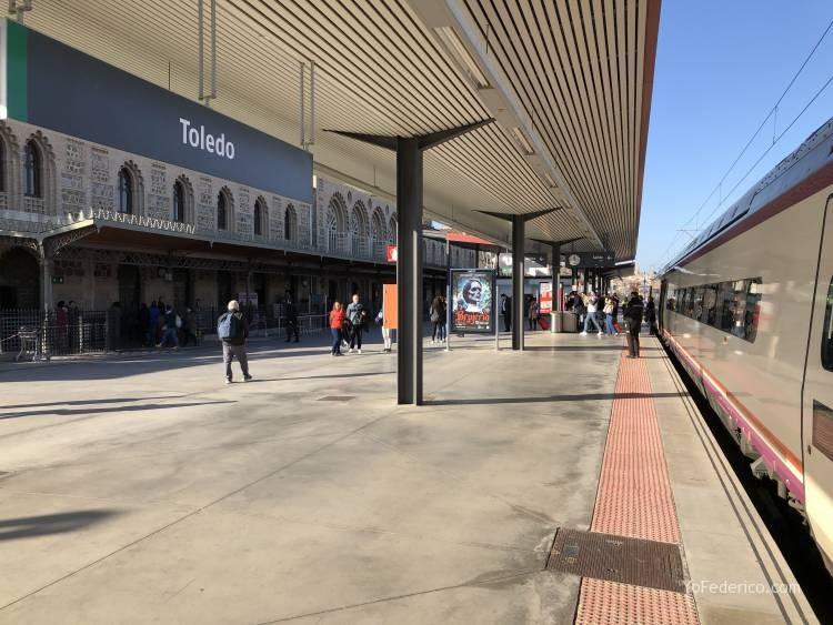 Viajamos en tren de Madrid a Toledo 1